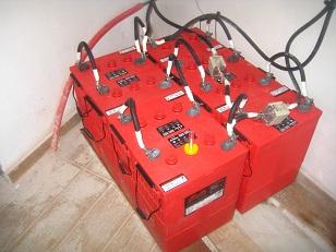 εγκατάσταση μπαταρίες