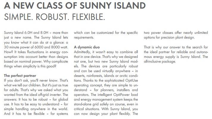 sma sunny island