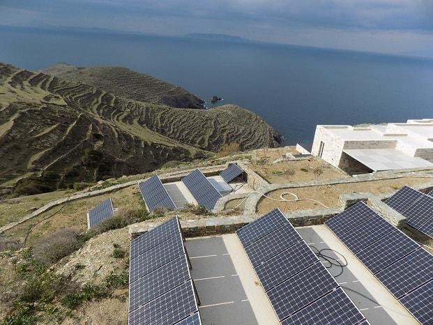 photovoltaic Greece Cyclades