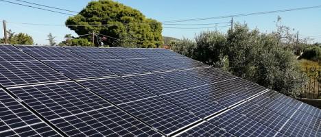 Επιδότηση για φωτοβολταϊκά Net Metering για επιχειρήσεις γεωργικών προϊόντων σε Αττική και Μακεδονία