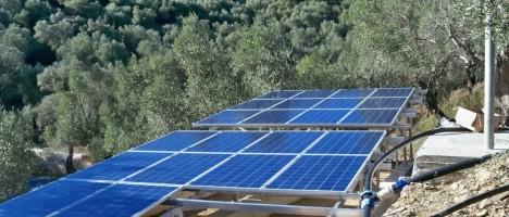 Νέες επιδοτήσεις για άρδευση με φωτοβολταϊκά για αγρότες