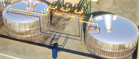 Αποθήκευση ηλιακής ενέργειας σε θερμό πυρίτιο και αλάτι...