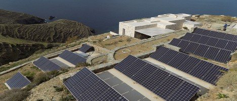 Off-grid photovoltaic in Cyclades - Greece